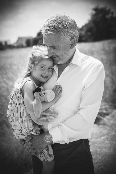 Vater und Tochter Portraitfotografie München