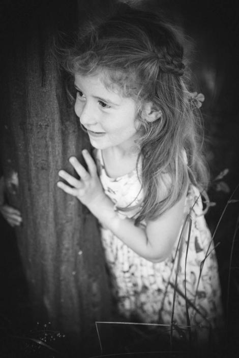 Kinderfotos schwarzweiss