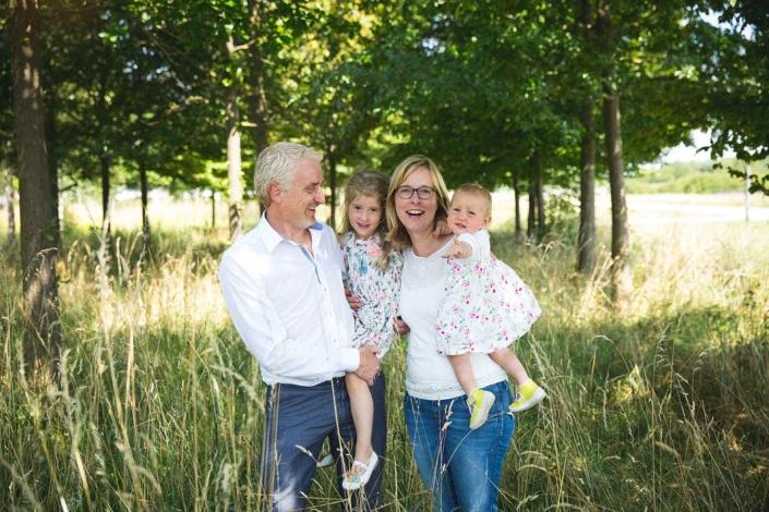 natürliche Familienfotos München Trudering