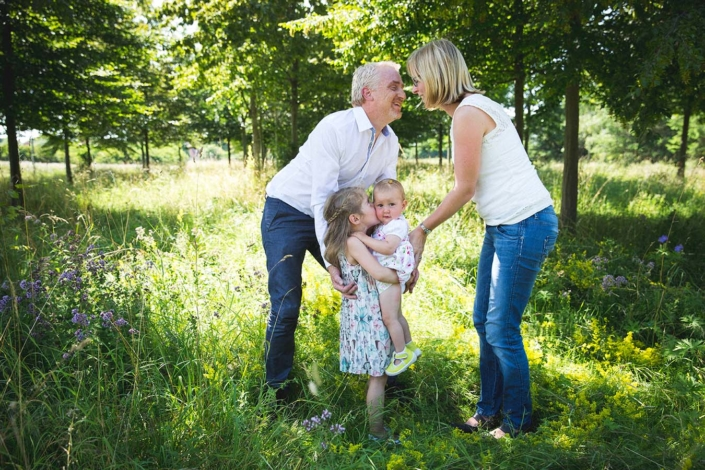 Familienfotos draussen Riemer Park