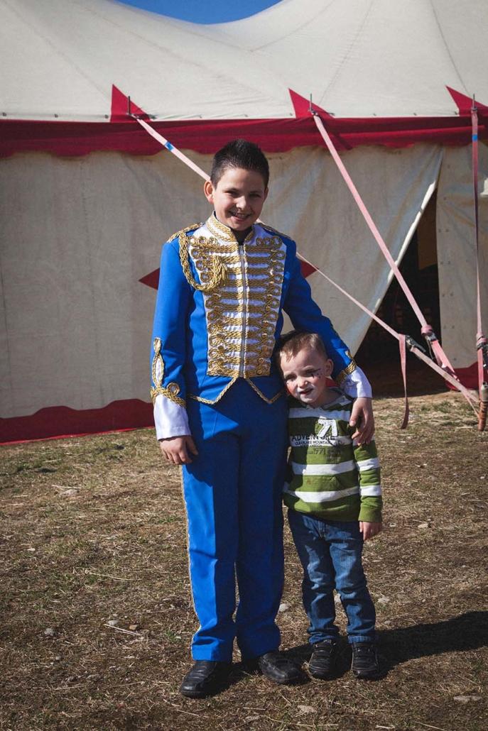dokumentarisches Portrait Zirkuskinder