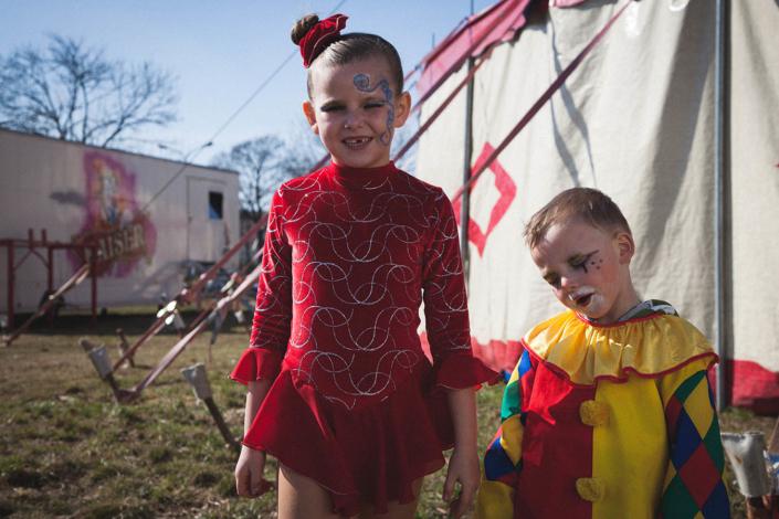 dokumentarisches Portrait Zirkuslkinder