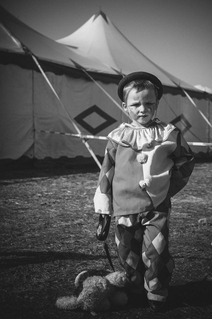dokumentarisches Portrait Zirkusclown
