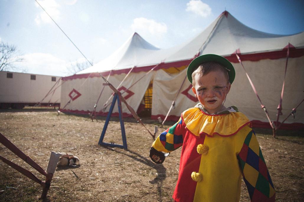 Zirkuskind Clown