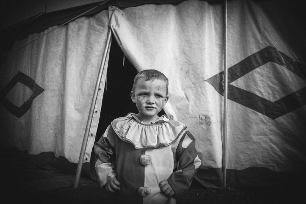 dokumentarisches Portrait Clown