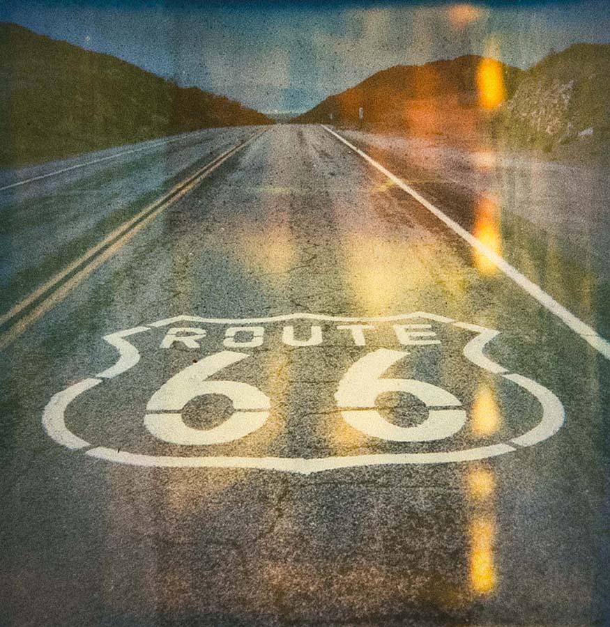 Route 66 Polaroid