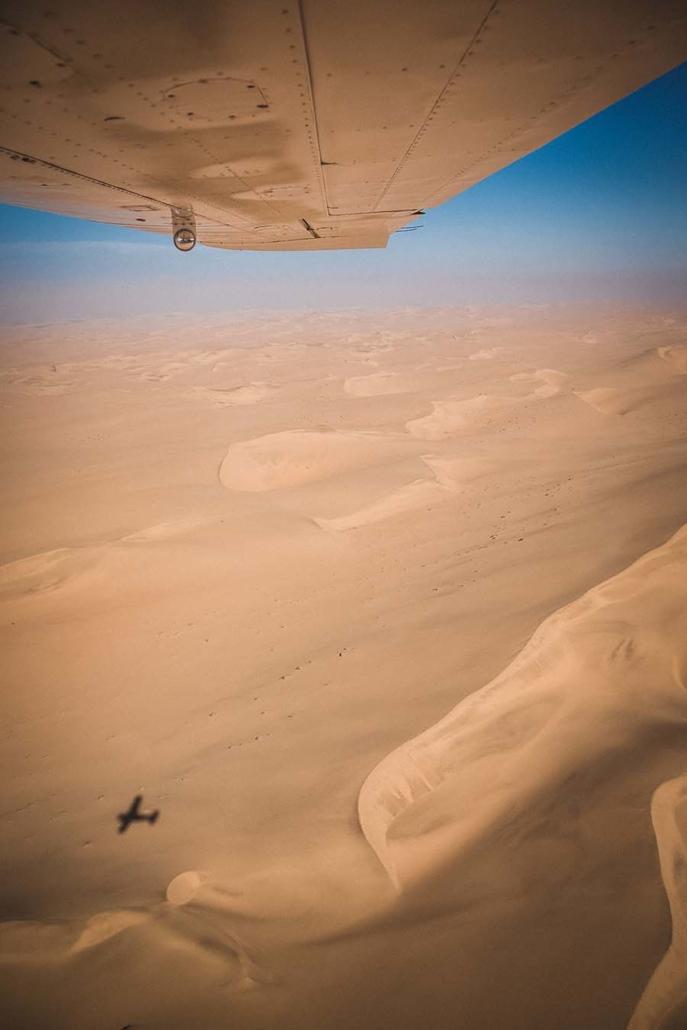 Namibia Flugzeug