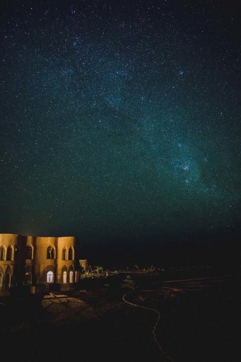Reisefoto Namibia Sternenhimmel