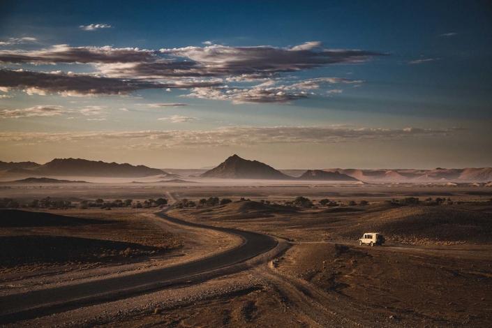 Reisefoto Namibia Jeepsafari