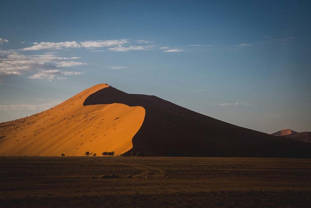 Reisefoto Namibia Wüste Düne
