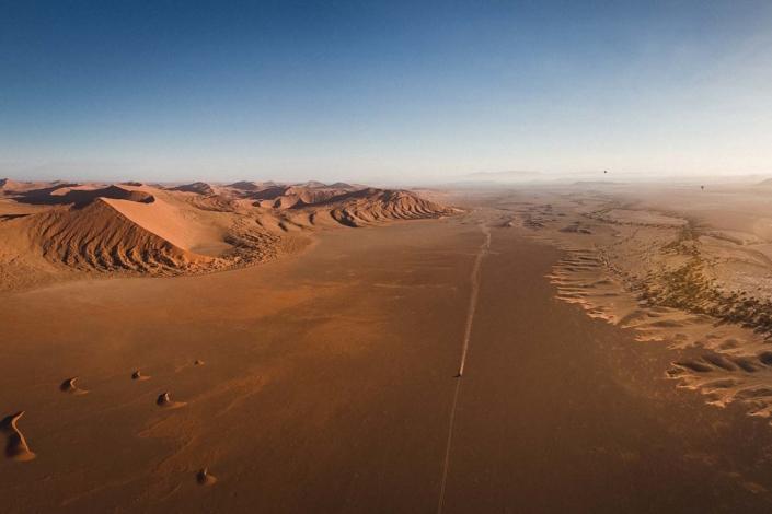 Reisefoto Namibia Wüste