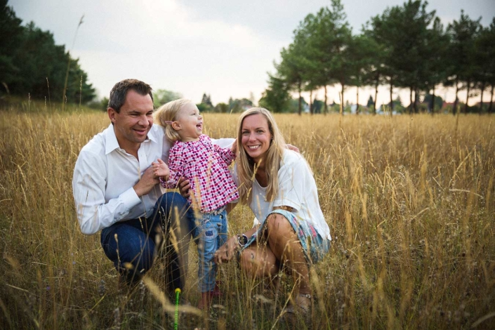 natürliche Familienfotos München