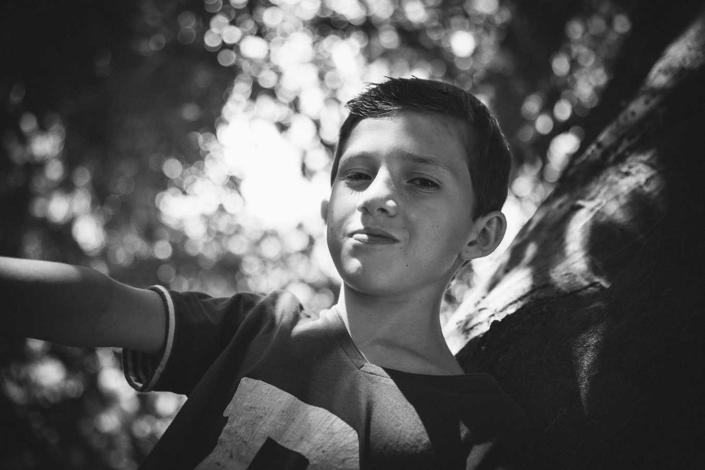 Kinderfotografie draussen