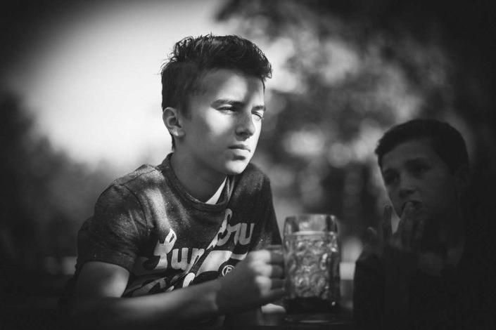 Kinderfotos am See München