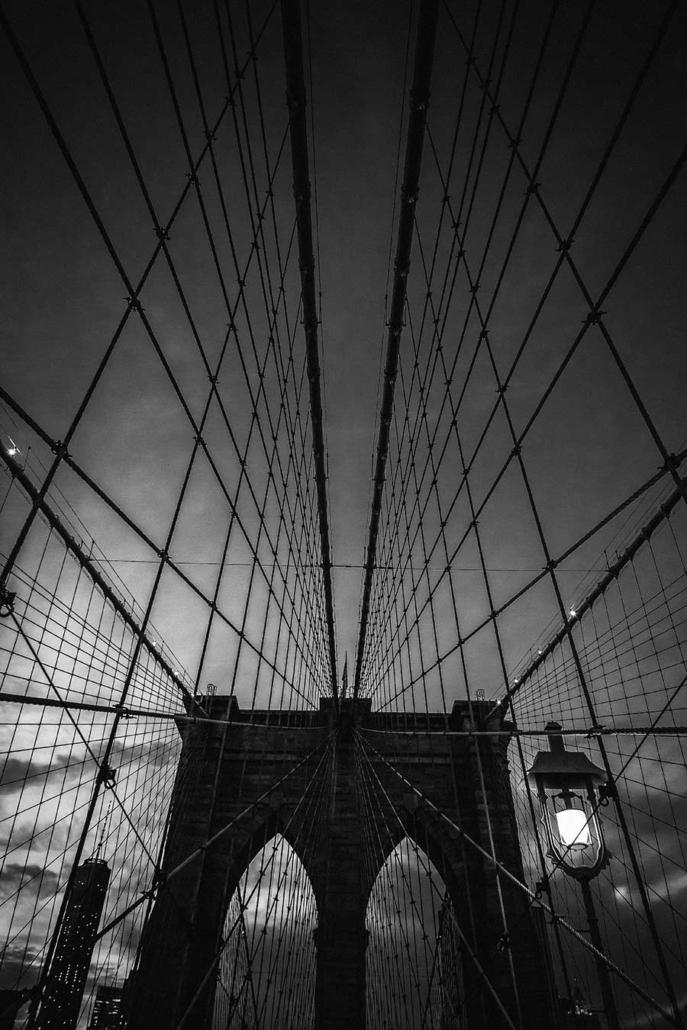 Reisefotografie New York Brooklyn Bridge