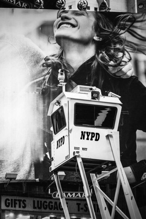 Reisefotografie New York NYPD