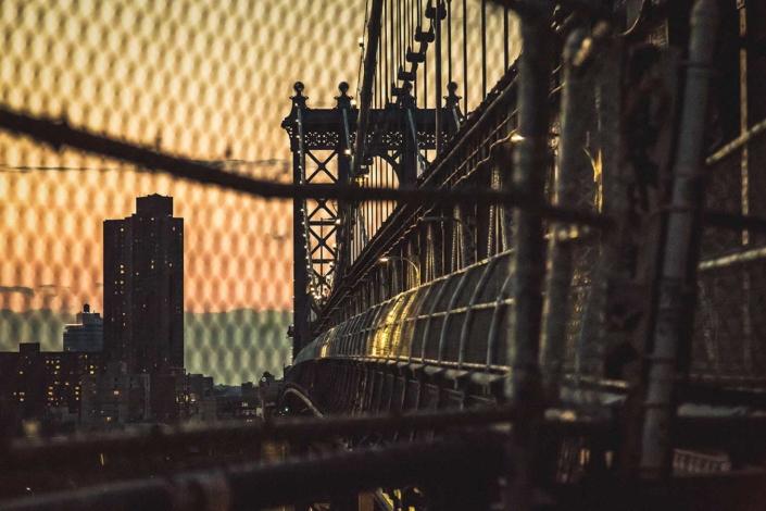 Reisefotografie New York Manhattan Bridge