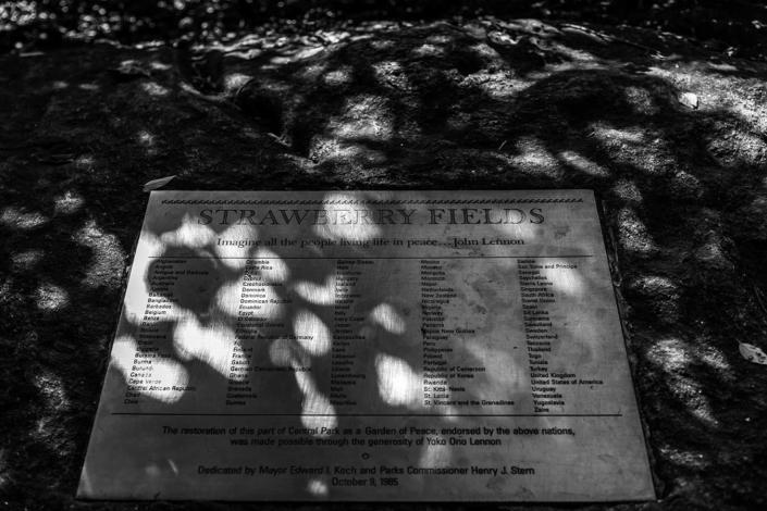Reisefotografie New York John Lennon