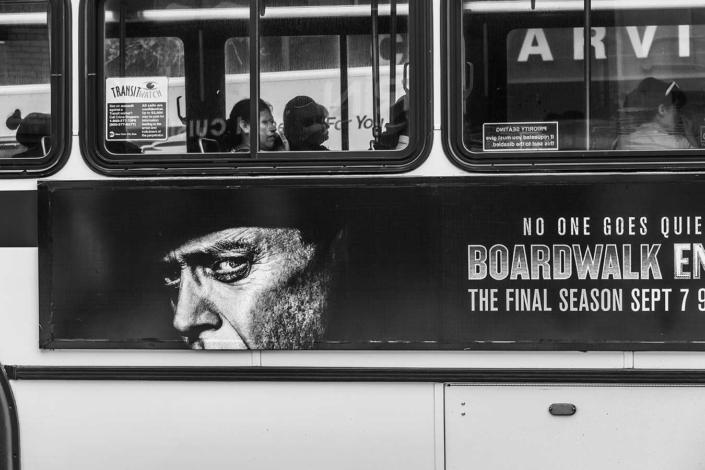 Reisefotografie New York Bus