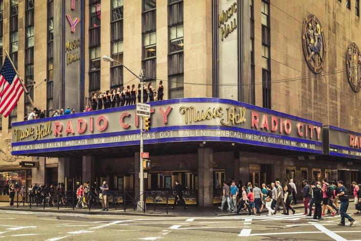Reisefotografie New York Radio City Hall