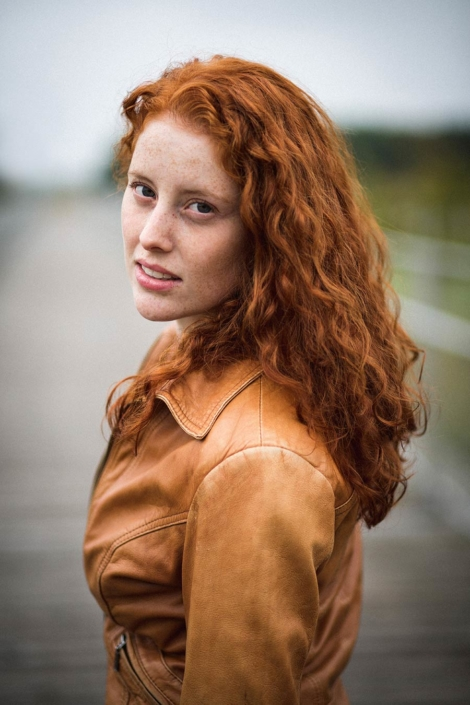 Portraitshooting rote Haare