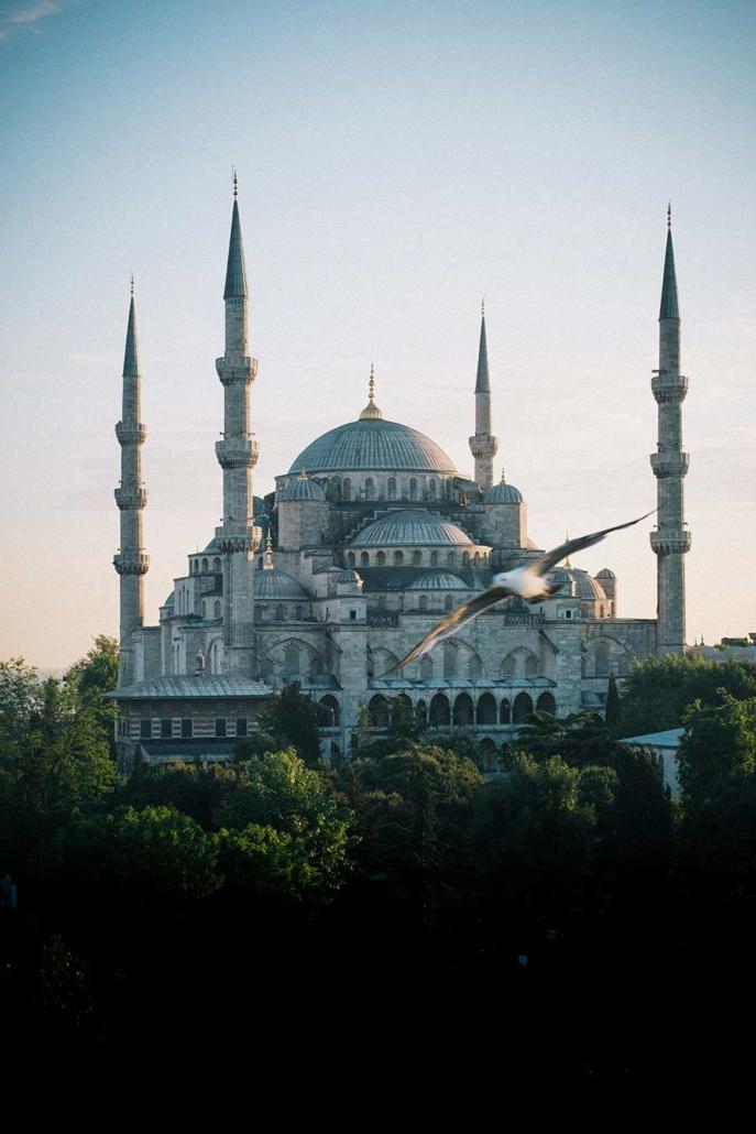 Reisereportage Istanbul Moschee