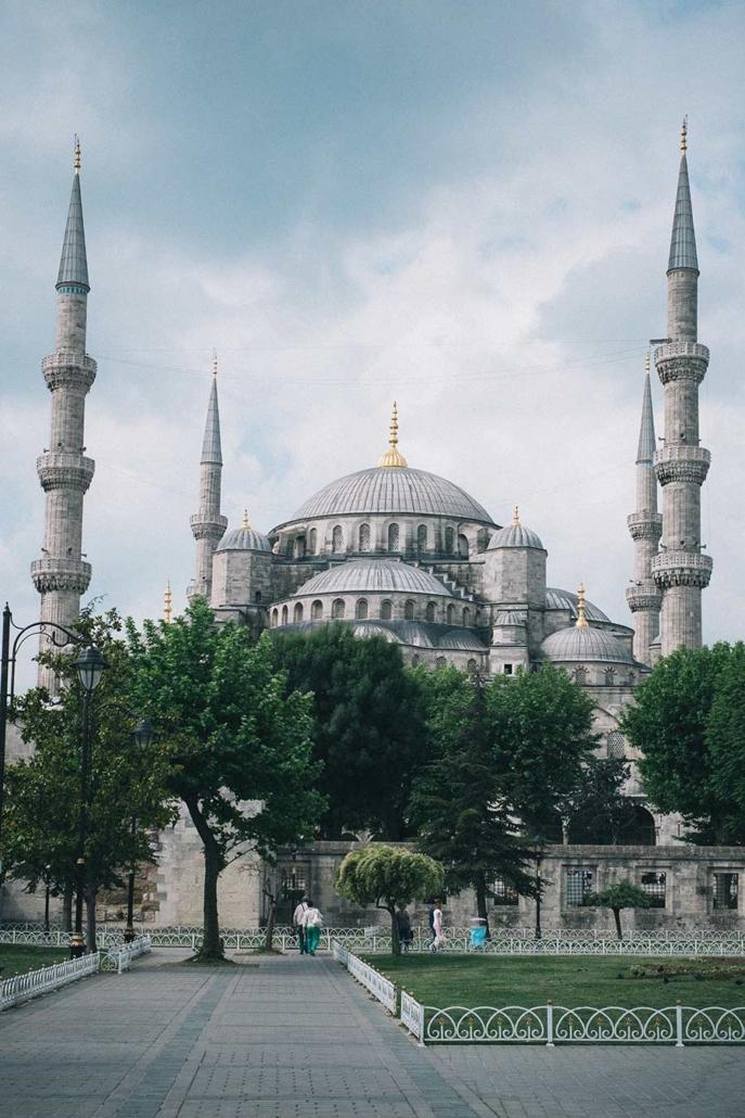 Reisefotografie Istanbul Moschee