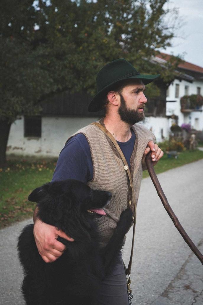 Reportagefotografie Schäferportrait