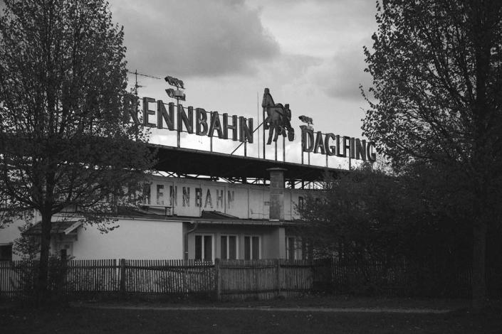 Trabrennbahn Daglfing Reportagefoto