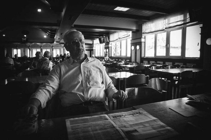 Trabrennbahn Daglfing dokumentarisches Portrait