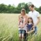 Familienfotografie draussen