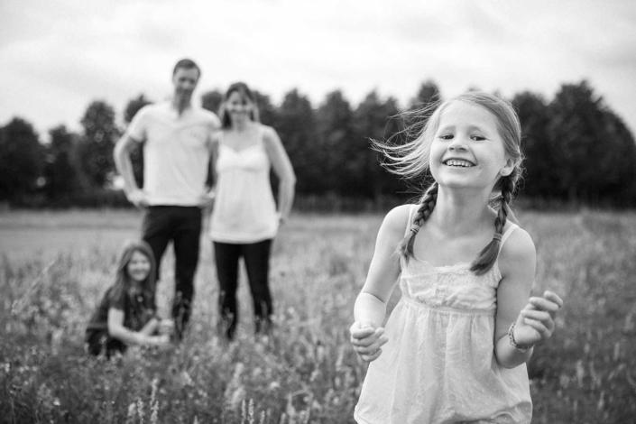 Familienfotos draussen