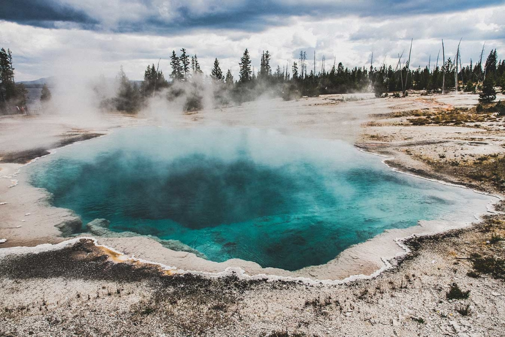 USA Yellowstone Nationalpark Reisefotografie