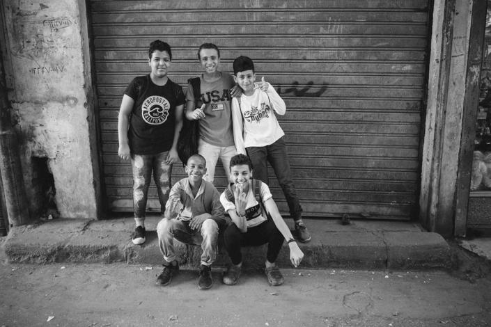 Reportagefoto Kinder in Kairo