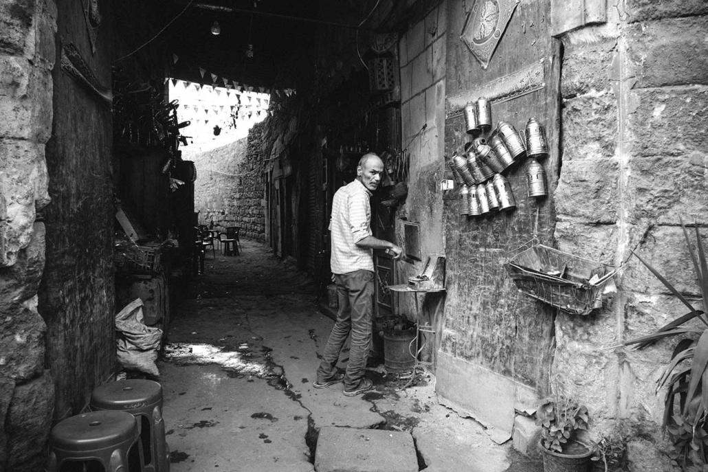 Reportagefoto Menschen in Kairo sw