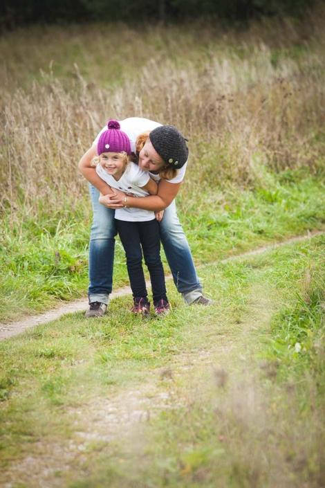 Mutter und Kind Foto outdoor