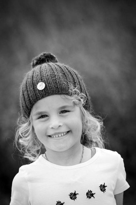 fröhliches Kinderfoto