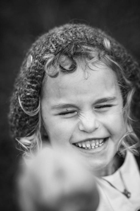 Kinderportrait Lachen