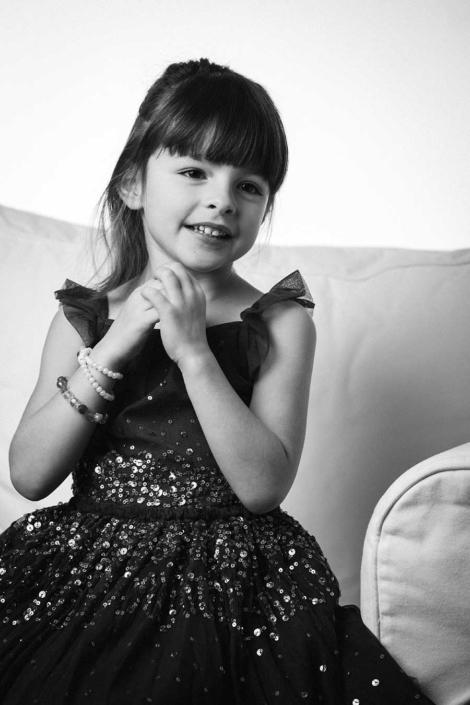 Kinderportrait Mädchen im Studio