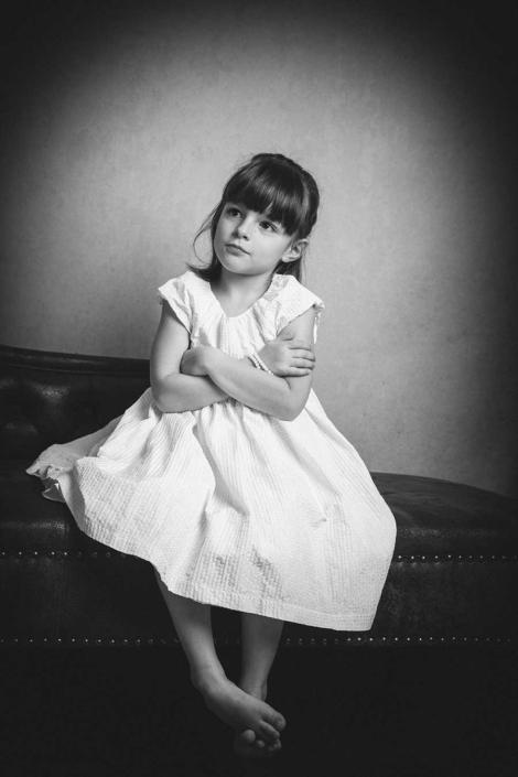Kinderportrait Studio sw