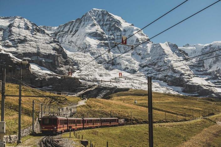 Eiger Nordwand Jungfraubahn