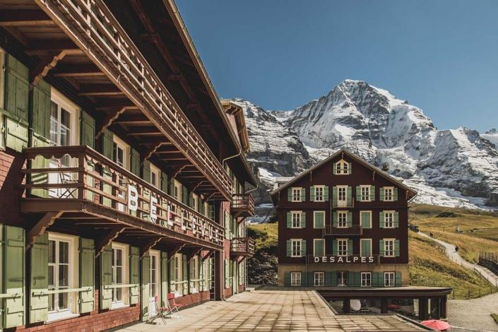 Eiger Nordwand Hotel Bellevue