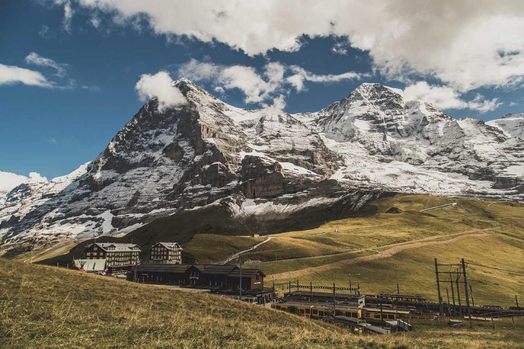 Eiger Nordwand Jungfrau Bahn