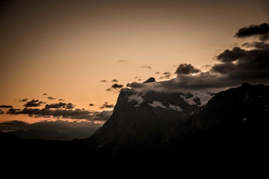 Eiger Nordwand Berg