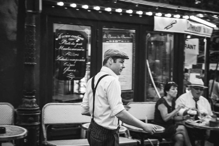 Reisefotografie Paris Cafe
