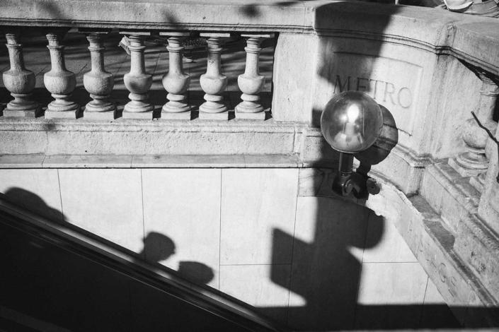 Reisefotografie Paris Metro