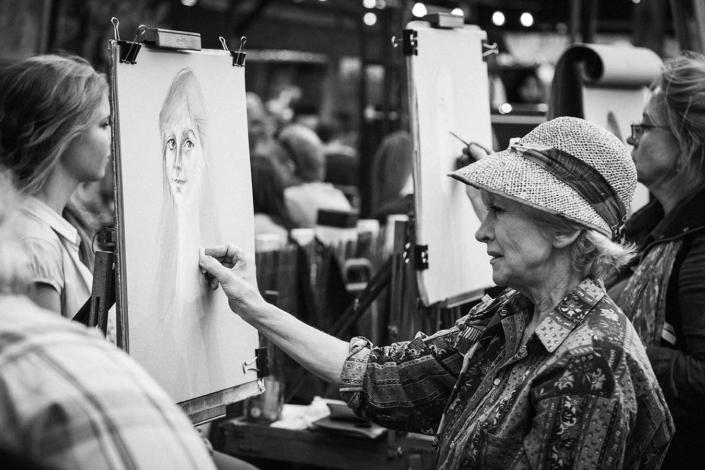 Reisefotografie Paris Maler