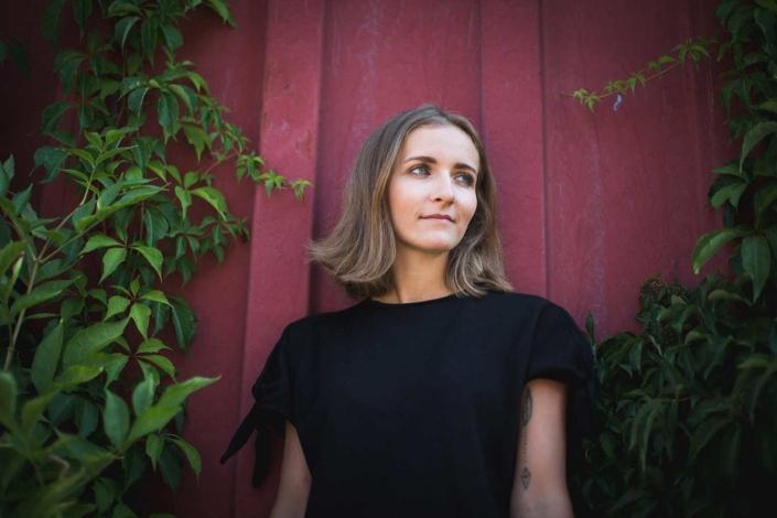 Portraitfoto outdoor Frau