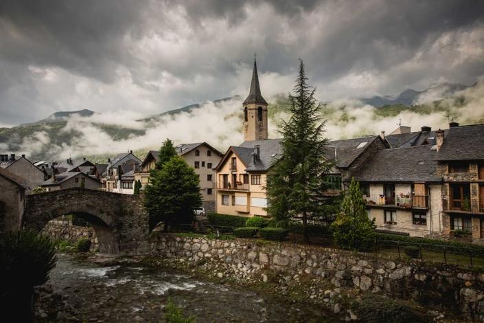 Reisefoto Pyrenäen