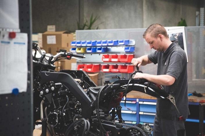 Werkstattreportage Horex Motorrad
